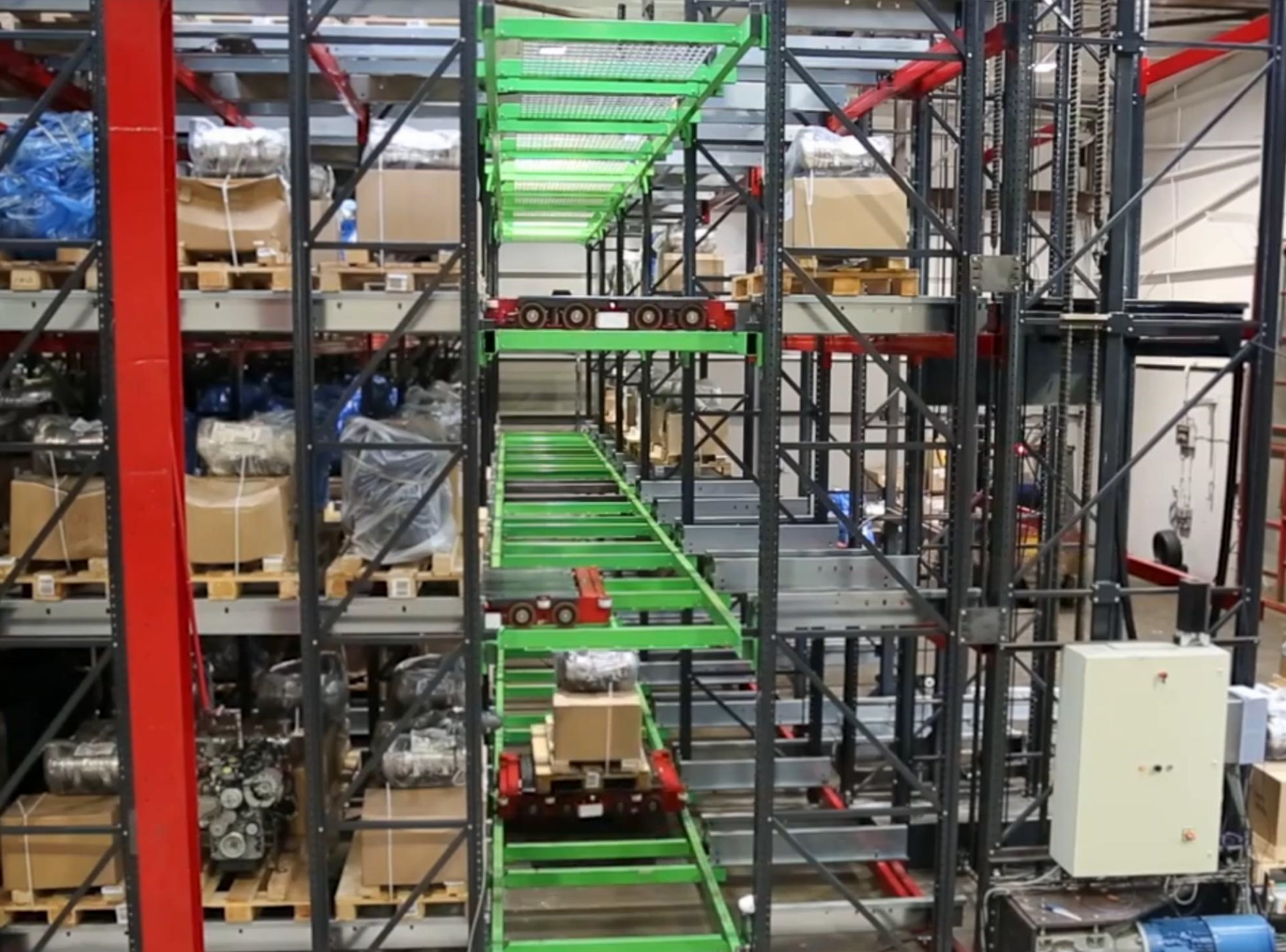 powerstore automated pallet shuttle