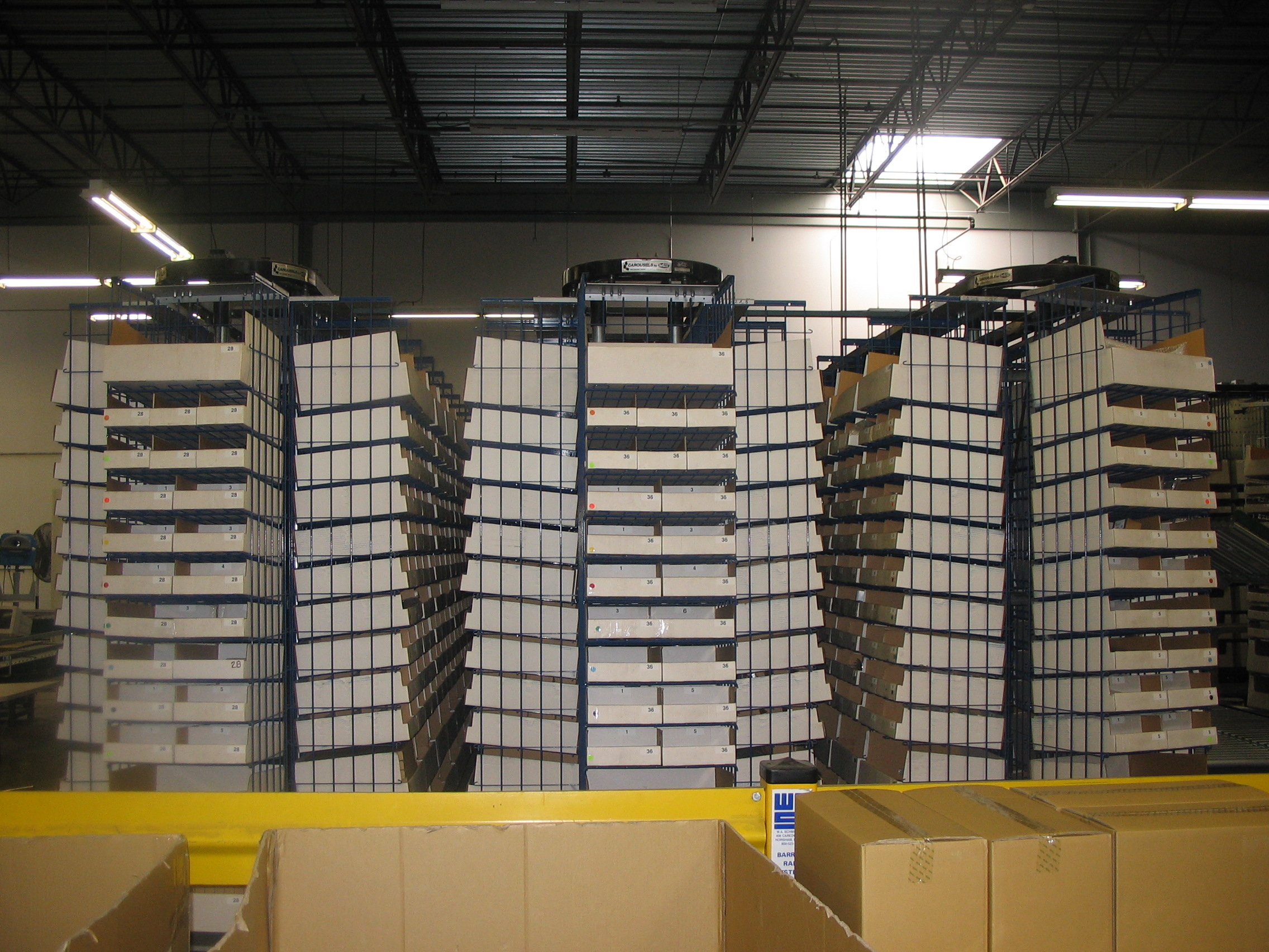 Mobile Tire Service >> Horizontal Carousels | Vertical Carousels | Used | Rebuilt