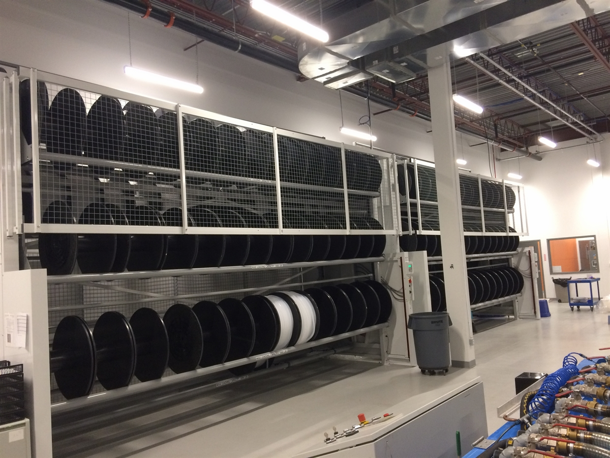 used tire carousel system 2
